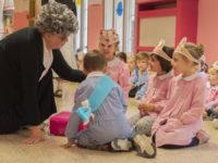 La visita di nonna Iride, con sorpresa!